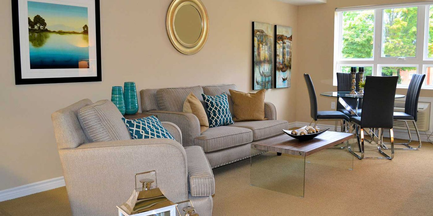 Queensview Model Living Room