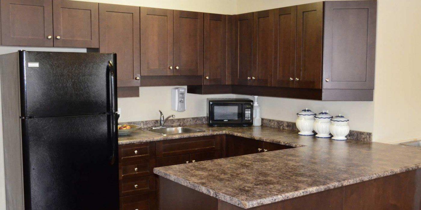Queensview Premier Lounge Kitchen